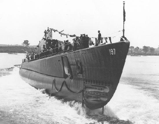 PigBoats.COM - USS Seawolf (SS)197 on