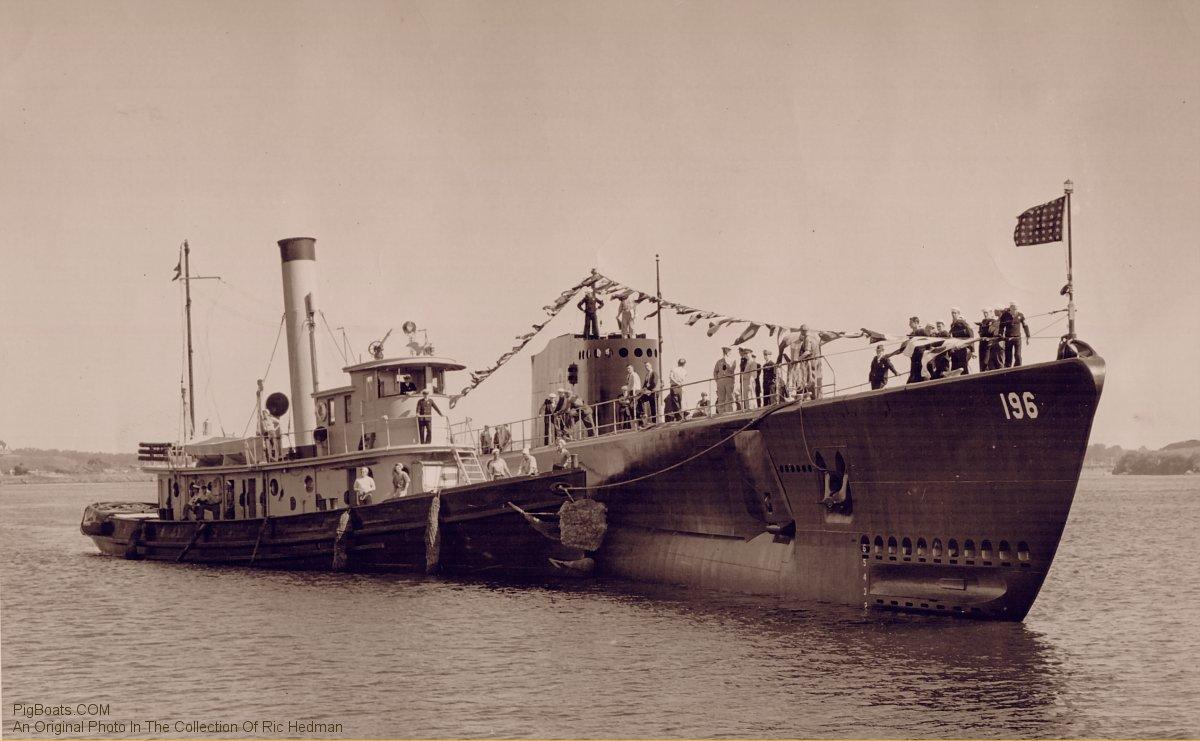 PigBoats.COM - USS Searaven (SS)196 on