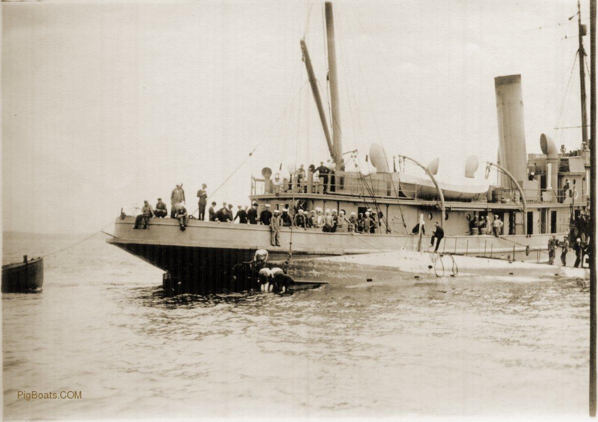 PigBoats COM - E Class Submarines